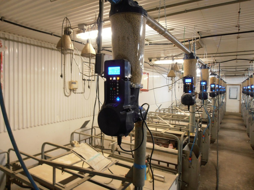 Our new Gestal Solo installed in a farm in Canada